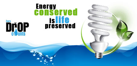 conservation of water and electricity