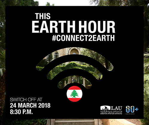 LAU's joined millions of people across the globe in switching off the lights of our business premises and our homes for one hour as part of Earth Hour 2018