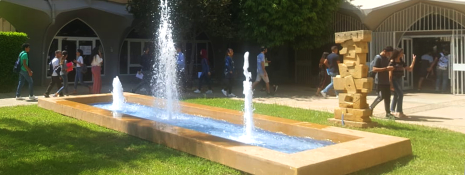 Iconic Water Fountain gets a new facelift, Beirut Campus