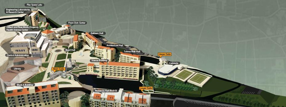 Byblos Campus in 3D