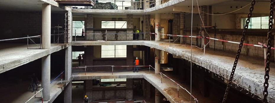 Gezairi Building's major renovation underway