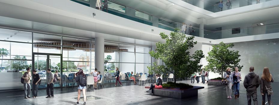 Courtyard - Gezairi Building (concept design)