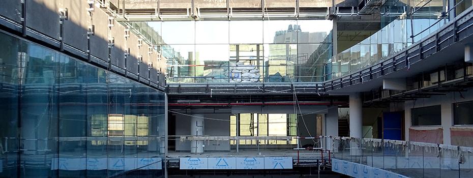 Gezairi building's major renovation is well underway