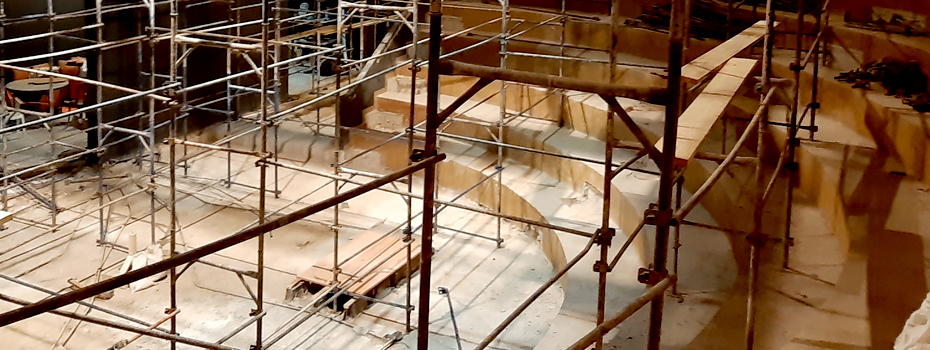 Gulbenkian Amphitheater Renovation Underway