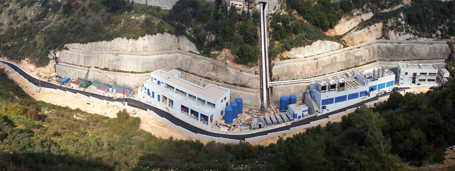 Final Execution Phase of Infrastructure Plants, Byblos Campus