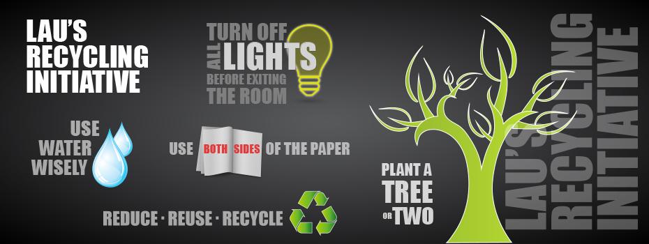 LAU's Recycling Initiative