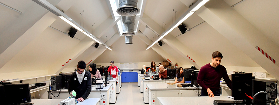 Physics Lab at Sage Hall, Beirut campus